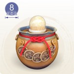 【風水球(M)】大一串錢滾球(8公分球)