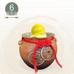 【風水球(S)】招財小雙錢滾球(6cm滾球)