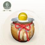 【風水球(小)】好彩頭滾球(白)(6cm滾球)