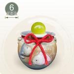 【風水球(小)】如意雙魚滾球(6cm滾球)
