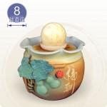 【風水球(中)】大招財葫蘆福到滾球(8cm滾球)