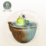 【風水球(中)】富貴魚 (6cm滾球)