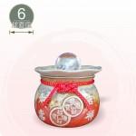 【風水球(S)彩燈】吉祥如意LED滾球(紅色)(6cm滾球)