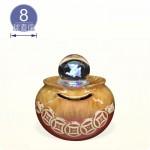 【風水球(S)彩燈】一串錢水琴(紅色)(8cm滾球)