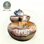 【風水球(中)】小二層魚岩(6cm滾球)