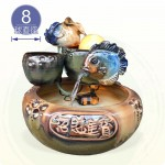 【風水球(中)】雙魚岩滾球(8cm滾球)