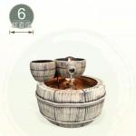 【風水球(小)】小木桶滾球(6cm滾球)