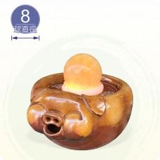 【風水球(小)】圓滿豬滾球組 (8cm滾球)