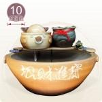 【風水球(大)】大三元(10cm滾球)
