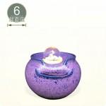 【風水球(S)】素面(紫色)小水琴(6cm滾球)