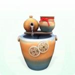 【流水】聚寶開運茶壺(高缽雙錢壺)流水組