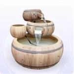 【流水】 木桶三層流水