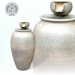 【雙層流水】《預購》陶藝色(大)雙層高甕流水(甕直徑約36cm、總高70cm)