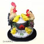 【擺飾】全家福雞
