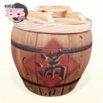 【仿木】仿木 (滿) 米甕 | 約可裝35台斤米米甕