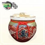 【花藝】鐵紅招財錢滿(串錢版) | 約可裝10台斤米米甕