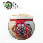 【花藝】五行招財錢滿 (五錢) 10 台斤米甕