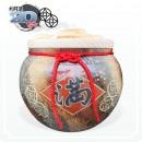 【花藝】五行招財錢滿 (五錢) 20 台斤米甕