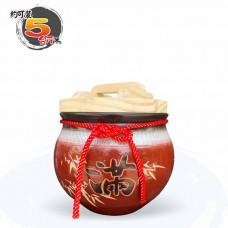 【上等】棗紅米甕(滿竹滿足) | 約可裝 5 台斤米
