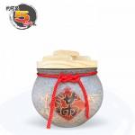 【上等】陶藝灰米甕(滿竹滿足) | 約可裝 5 台斤米