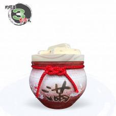 【上等】漸層紅米甕(美滿)(梅花滿) | 約可裝 3 台斤米