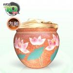 【董大師】荷花(咖)米甕 | 約可裝10台斤米
