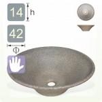 【洗手盆】錐形陶藝色洗手盆