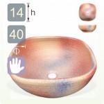 【洗手盆】( 方 ) 虹彩色洗手盆