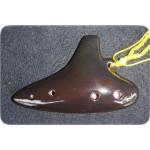 【六孔陶笛】潛艇外型(黑)